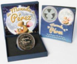 Monedas Chapadas en Oro y Plata del Ratoncito Perez